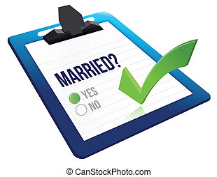 married status question yes or no