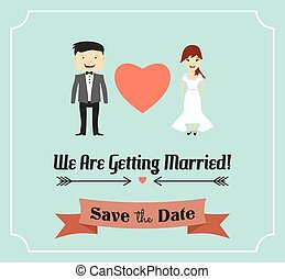 Married template card