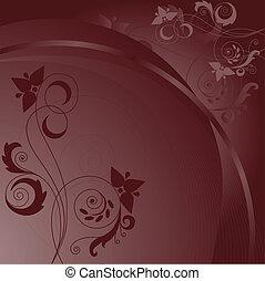 marrom, abstratos, fundo