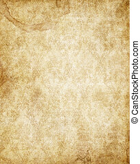 marrom, antigas, vindima, textura, papel, amarela, pergaminho