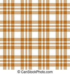 marrom, checkered, tablecloths, padrão, -, endlessly