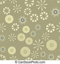 marrom, childs, fundo, coloridos, têxtil, simples, padrão, seamless, textura, papel, flowers., vetorial, estrelas, urdidura, design., geomã©´ricas, circular, roupas