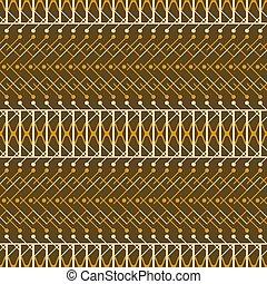 marrom, estilo, padrão, seamless, rústico, cores, laranja