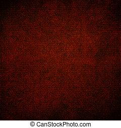 marrom, grunge, abstratos, textura, papel, fundo, ou, vermelho