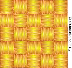 marrom, illustration., seamless, amarela, experiência., vetorial, tecer