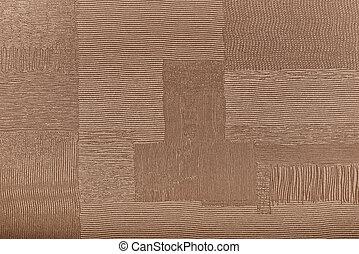 marrom, lona, fundo, grosseiro, textura