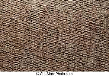 marrom, lona, textura, ou, fundo