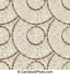 marrom, marble-stone, mosaico, texture.