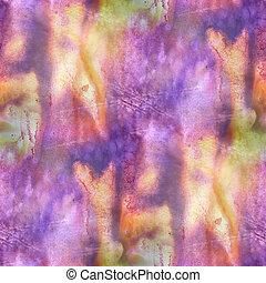 marrom, padrão, fundo, backgro, amarela, roxo, seamless, mural