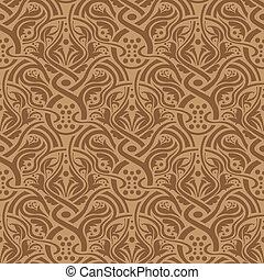 marrom, seamless, padrão