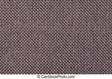 marrom, tecido, macro, escuro, têxtil, fundo, estrutura, closeup.
