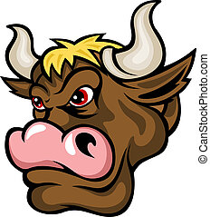 marrom, touro