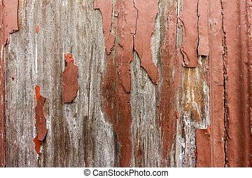 marrone, 2, vecchio, tessuto legno