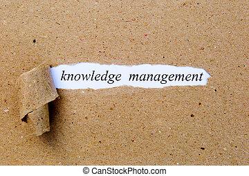 marrone, amministrazione, conoscenza, testo, strappato,  -, sotto, carta, stampato