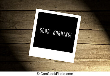 marrone, buono, legno, mattina, nota, parete