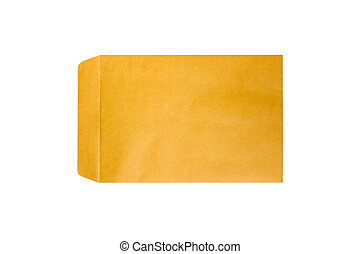 marrone, envelope.