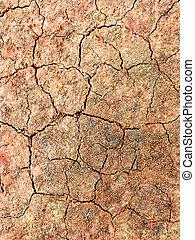 marrone, fesso, sporcizia, struttura, fondo