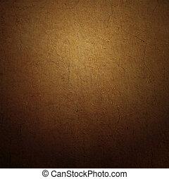 marrone, grunge, colorito, astratto, struttura, carta, fondo, o