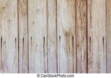 marrone, parete, struttura, fondo., legno, grungy, asse