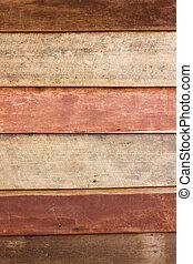 marrone, parete, struttura, legno, fondo, grungy, asse