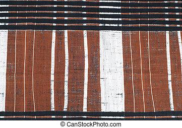 marrone, tessuto, modello, nero, striscia, bianco, struttura, cotone