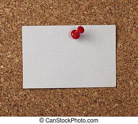 marrone, vecchio, nota carta, fondo, cartolina sughero