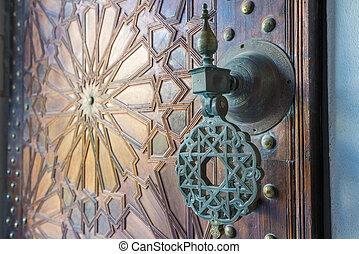 marruecos, antiguo, puertas