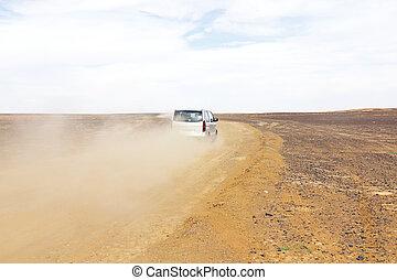 marruecos, desierto, conducción