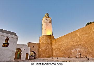 marruecos, mezquita, el-jadida