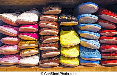 marruecos, oriental, shoes