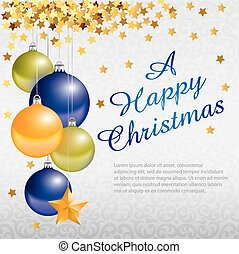 Marry Christmas frame - Marry Christmas and New Year...