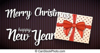 Marry Christmas Greeting Card - Illustration of Marry...