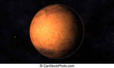 Mars Animation - Animation of the Planet Mars