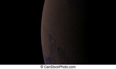mars orbit - mars