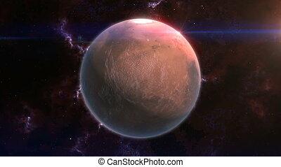 Mars Reveal in Space