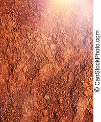 mars-type, red-brown, smutsa