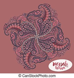 Marsala inspired trendy pattern,fashionable sophisticated...