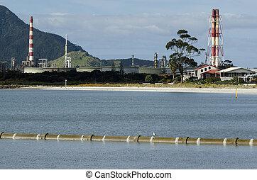 marsden, punto, refinería, aceite