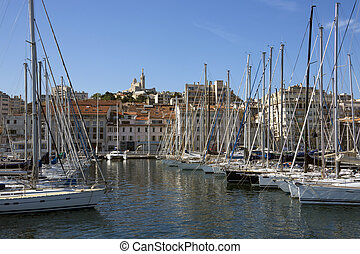 Marseille - Cote d'Azur - South of France - The Vieux Port ...