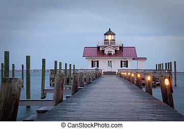Marsh Light house - Marsh Lighthouse in Monteo, North...