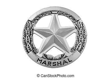 Marshal star badge - vintage toy deputy marshal star badge...
