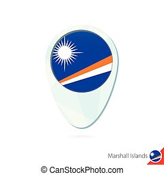 Australia, fiji, kiribati, marshall islands flag location map pin ...