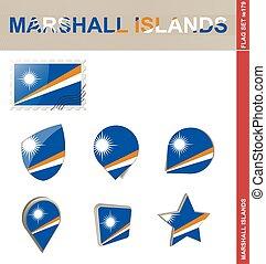 Marshall Islands Flag Set, Flag Set #179
