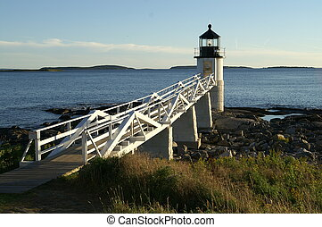 Marshall Point Lighthouse is located mid-coast Maine.