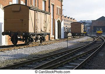 Marshalling Yard - Vintage railway marshalling yard