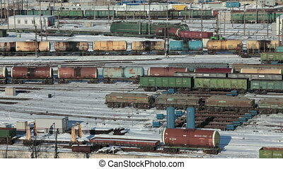 marshalling yard view from above - marshalling yard, Endless...