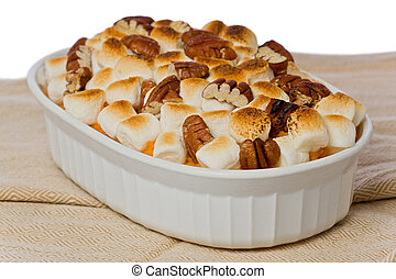 marshmallows, doce, batata
