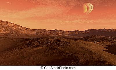 marte, como, planeta rojo