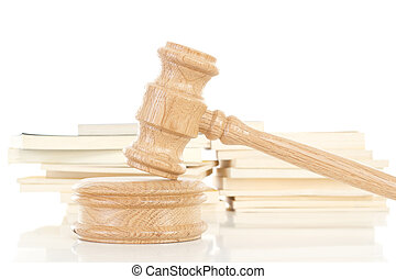 marteau, codes, quelques-uns, droit & loi