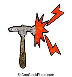 marteau, dessin animé
